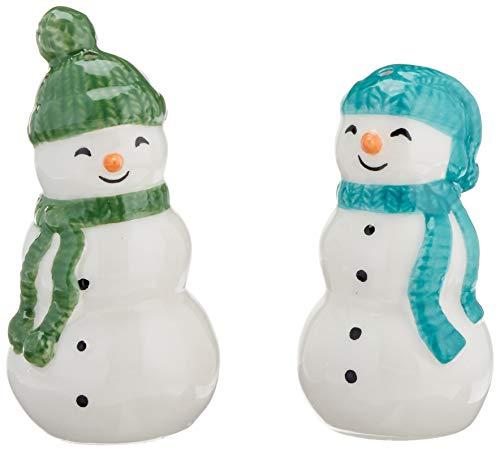 Snowman Salt And Pepper Shakers - Lenox 883072Balsam Lane 2-Piece Snowman Salt