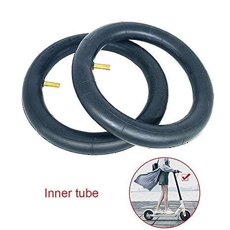 2 Unidades Cámaras Neumático Neumáticos Grosor Rueda Neumáticos para Xiaomi Mijia M365 Patinete Eléctrico 8 1 / 2x2