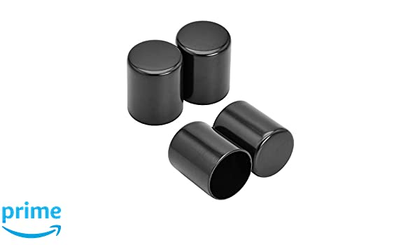 Clipsone 2 PCS Black Docking Hardware Point Covers for Harley Touring 1998-2017