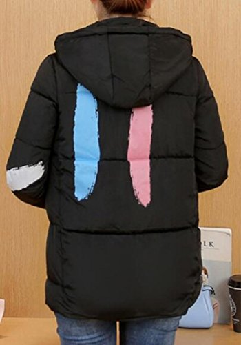 Womens Short Black today Hooded Jacket Weight UK Jacket Coat Light Down Down qwFR5