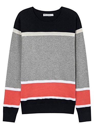 meters-bonwe-mens-color-block-long-sleeve-knitted-fashion-sweater-deep-blue-l