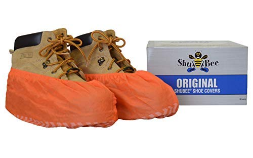 C SB SC OR Original Shoe Cover, Orange, One Size by ShuBee