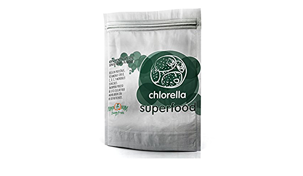 Energy Feelings Chlorella en Polvo Ecológica   Alga Chorella ...