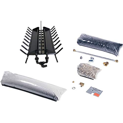 Rasmussen See-Through Multi-Burner and Grate Kit (DF-LC24-N), Natural Gas, 24-inches by Rasmussen