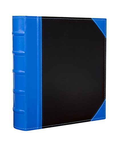 Kleer Vu Executive Binder, English Leather 2 Tone with Stitching and Ribbed Spine, Heavy Duty 1.1/2