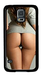 Beautiful Girls Sexy Ass 001 Samsung Galaxy S5 Hard Shell with Black Edges Cover Case by Lilyshouse