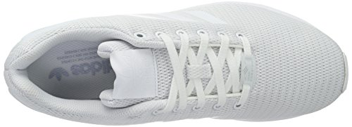 Low Top Footwear Weiß Grey ZX White adidas Unisex Flux Clear Weiß Erwachsene XUnxRF1