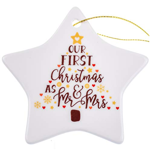 Our First Christmas Ornament as Mr & Mrs, Gifts for...