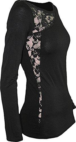 SPIRAL DIRECT Goth drago, Donna, colore: nero, Rosa, L/a tutte le misure