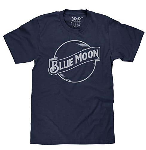 Blue Moon Logo T-Shirt | Soft Touch (Logo Beverage)
