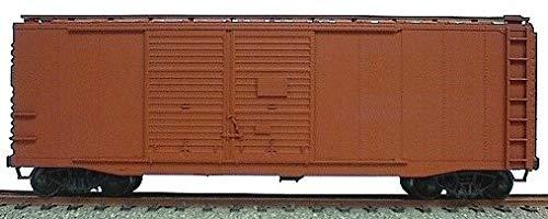 (AAR 40' Double-Door Boxcar - Kit -- Undecorated)