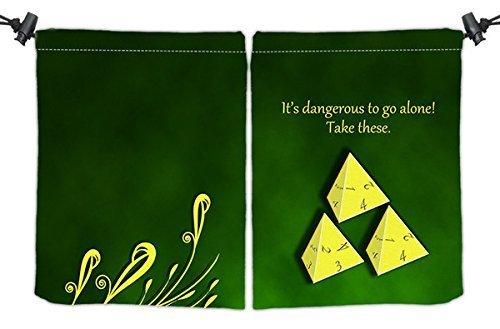It's Dangerous Dice Bag by Inked Playmats