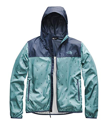The North Face Men's Printed Cyclone Hoodie, Storm Blue Campfire Print/Shady Blue, Size ()