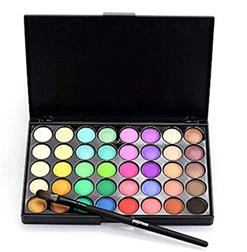LOSOUL Eye Shadow40 Colors Eyeshadow Eye Shadow Palette Colors Makeup Kit Eye Color Palette Halloween Makeup Palette Matte and Shimmer Highly Pigmented Cosmetic]()