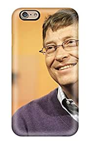 Iphone 6 Case Cover - Slim Fit Tpu Protector Shock Absorbent Case (bill Gates)