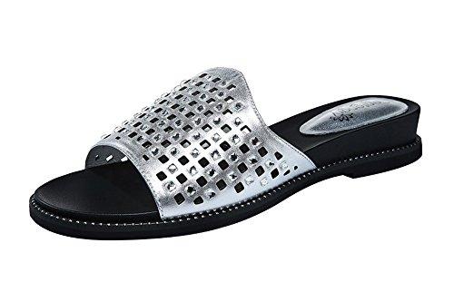perfectaz-women-fashion-breathable-casual-open-toe-slip-on-rhinestone-flat-sandals6-bm-us-silver