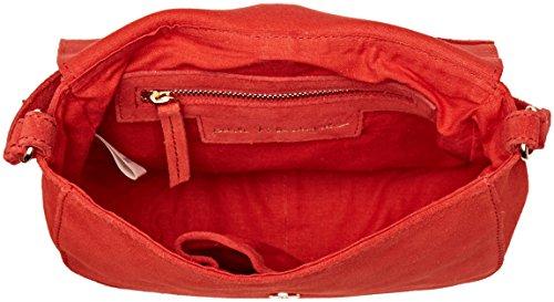 Petite Mendigote Mako, Borse a spalla Donna Rosso (Rouge Paprika)
