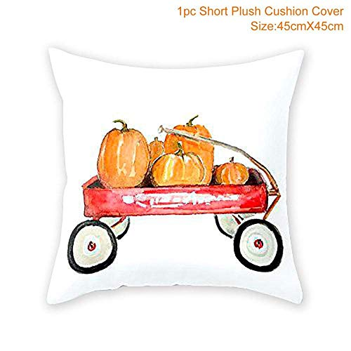 DIY Halloween Pillow Case Pumpkin Cover Cushion Halloween
