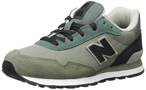 New Balance Boys' 515v1 Sneaker, Faded Rosin/Black, 5 M US Big Kid (New Balance Shoes Boys Size 5)