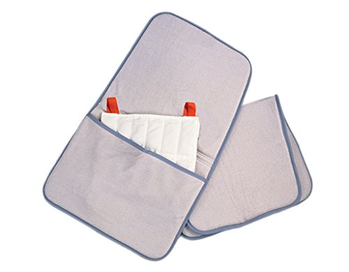 Relief Pak 11-1365-12 Hotspot Moist Heat Pack Cover, Terry with Foam-Fill, Oversize with Pocket, 24.5