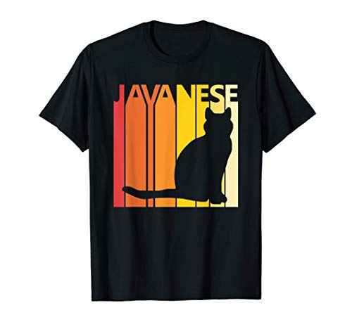 Retro Javanese T-shirt Cat Breed Owner ()