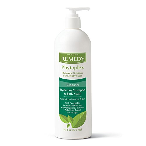 Medline Remedy with Phytoplex Hydrating Cleansing Gel, 16 Fluid Ounce (Packaging may vary)