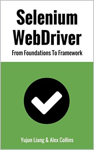 Pdf Epub Download Selenium Webdriver From Foundations To Framework