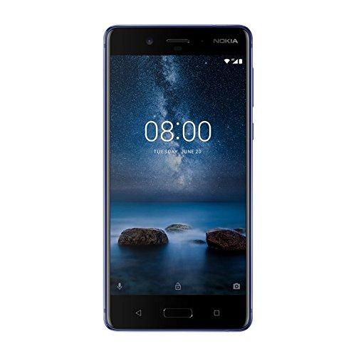 Nokia 8 Dual SIM - 64GB, 4GB RAM, 4G