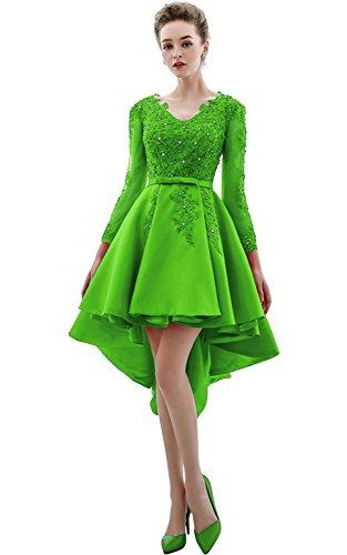 Linea A Vimans Ad Green Donna Bright Vestito Pqw5xfw4