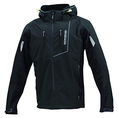 [해외] 코미네(KOMINE) JK-112 프로텍트 허프 메쉬 파카 재킷 겐 re Black XL 07-112