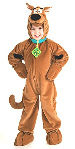 Toddler Scooby Doo Costumes (Scooby - Doo Child's Deluxe Scooby Costume, Toddler)
