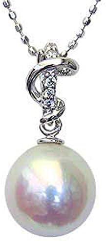 ペンダントトップ パール プラチナ ペンダントヘッド ダイヤ あこや本真珠 8.5mm アコヤ ダイヤモンド 0.03ct プラチナ PT900 真珠ペンダントチャーム 記念日 お祝い 結婚式 パーティー