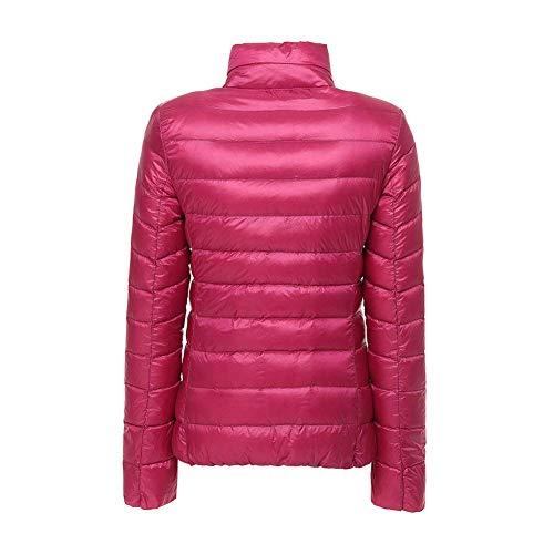 Fit Lunga Vintage Puro Manica Di Casual Costume Rose Fashion Giacca Pelliccia Pelle Slim Donna Invernali Autunno Collo In Similpelle Sintetica Colore Cappotto wqUxZ76zw