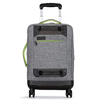 Image of Luggage All of Us 21 inch Lightweight Hybrid Rolling Carry On Spinner Suitcase