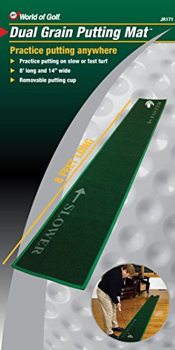 JEF WORLD OF GOLF 8-Foot Long 14'' Wide Putting Mat by JEF WORLD OF GOLF (Image #2)