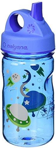 Nalgene Grip 'n Gulp Space Bottle, Blue by Nalgene