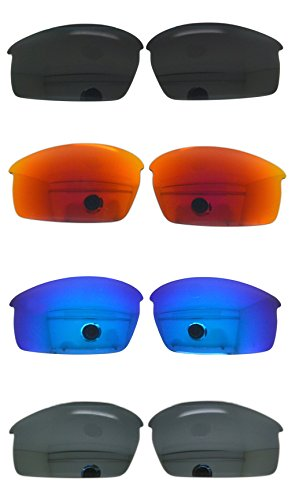 Set of 4 Polarized Replacement Lenses for Oakley Bottlecap Sunglasses NicelyFit