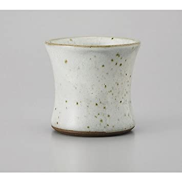 [mkd-412-24-45e] Vaso de roca en polvo Celadon Punch tipo cerradura taza [9,7 x 9 cm 320 cc] cerámica gourmet inn estilo japonés restaurante comer ...