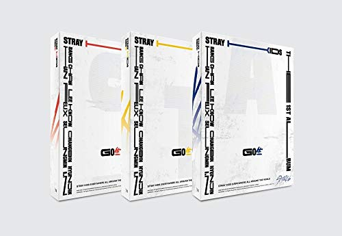 JYP Ent Stray Kids - GO生 Standard (Vol.1) Album+Pre-Order Benefit+Folded Poster+Extra Photocards Set (C ver.)