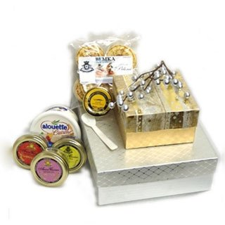 Exotic Caviar Gift Basket - Perfect Gourmet Food Gift by Bemka.com
