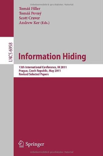 [PDF] Information Hiding Free Download | Publisher : Springer | Category : Computers & Internet | ISBN 10 : 3642241778 | ISBN 13 : 9783642241772