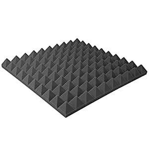 DIY Acoustic Foam Sound Proof Foam Panels Noise Dampening ...
