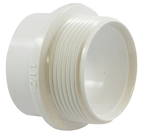 (Canplas 192801 PVC DWV FTG Trap Adapter, 1-1/2-Inch, White)