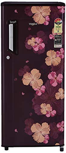 Whirlpool 200 L 4 Star Inverter Direct Cool Single Door Refrigerator  215 ICEMAGIC PWCL PRM 4S INV, Wine Azalea