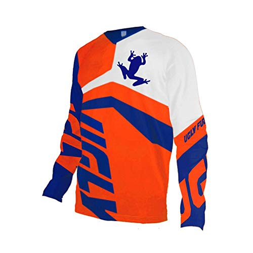 Uglyfrog Cycling Shirt Long Sleeve Winter Thermal Fleece Warm Downhill Jersey Motorbikes Protective - Suit Trousers City