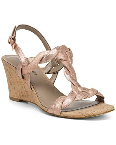 Donald J Pliner Ankle Strap Wedges - 8