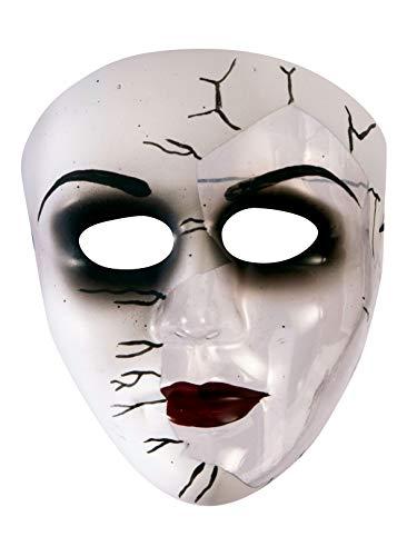 (Forum Novelties Broken Doll Face Adult Mask Adult One)