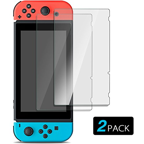 Buy cheap nintendo switch screen protector ultra clear protective filter pack scratch proof anti fingerprint bubble film