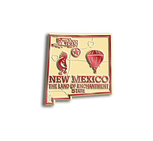 New Mexico State Map Magnet (State Shape Flexible Magnet)