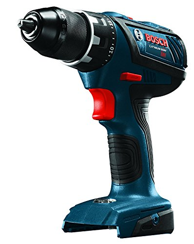Bosch DDS181AB Bare-Tool 18V Lithium-Ion 1/2'' Compact Tough Drill/Driver (Certified Refurbished) by Bosch